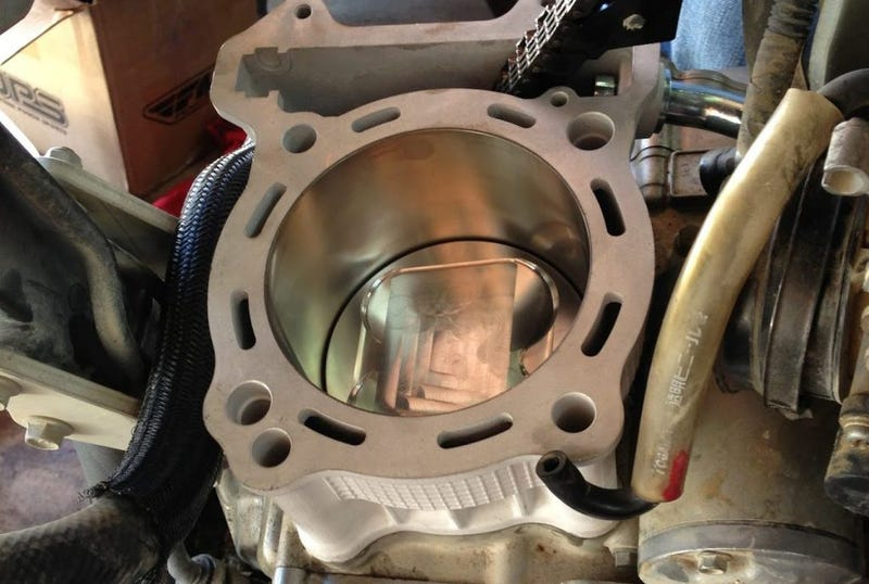 The laziest possible way to install a big bore kit in a DRZ