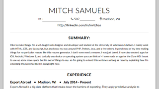 a messy one can make it easy to overlook even the most impressive credentials this tool helps make your resume pretty