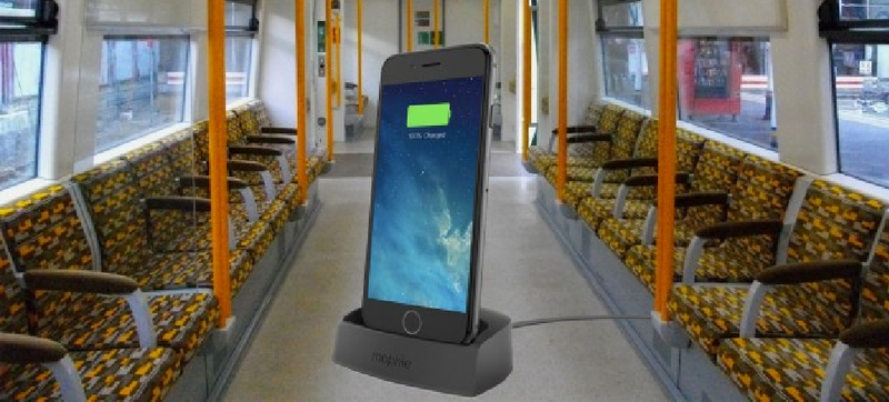 Illustration for article titled Charging Your Phone on a London Overground Train Could Get You Arrested