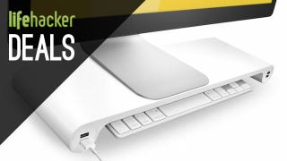 Illustration for article titled Add Height and USB Ports to Your iMac, Samsung SSDs, and More Deals