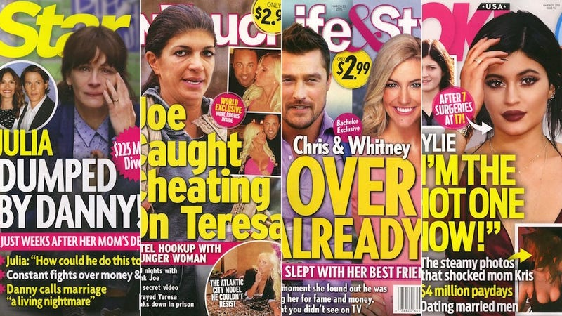 Illustration for article titled This Week in Tabloids: Bachelor Chris is a Dancing, Cheating Liar