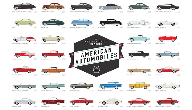 Illustration for article titled America's Century-Old Love Affair With the Automobile In a Single Image