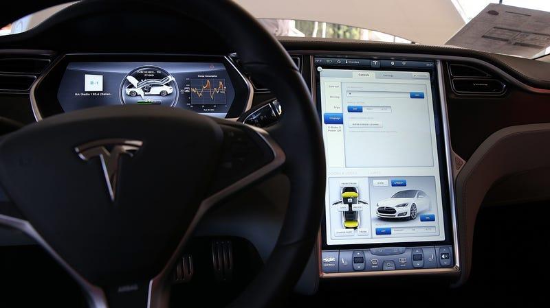 Inside a Tesla Model S