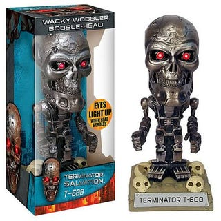 Illustration for article titled Terminator Salvation 'Wacky Wobbler Bobble-Head' Officially Kills the Franchise