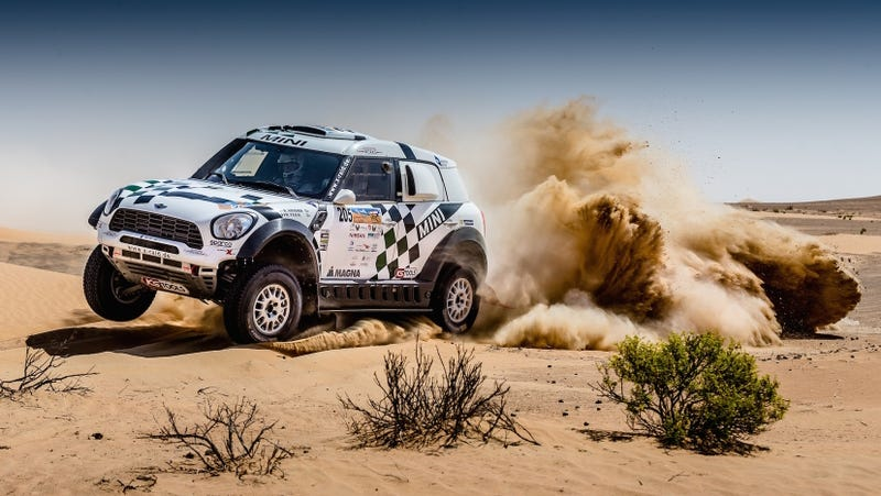 The 2016 Abu Dhabi Desert Challenge had four of these babies in its top five. (Image: X-Raid)