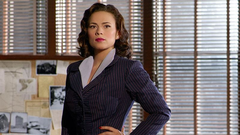 Hayley Atwell as Peggy Carter on Agent Carter (Credit: ABC/Marvel)