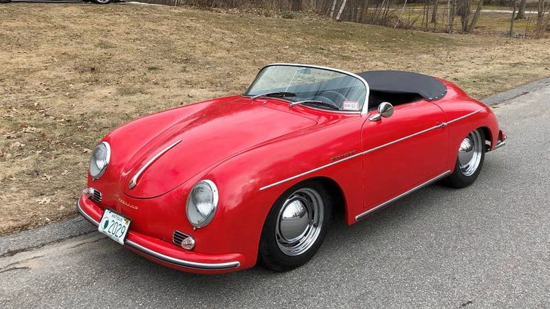 Illustration for article titled At $16,800, Could This '1957 Porsche Speedster' Replica Be a Real Deal?