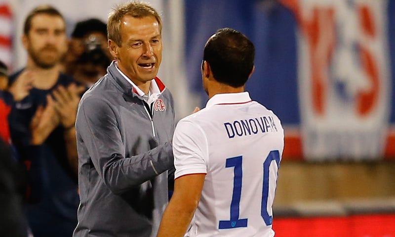 Illustration for article titled Landon DonovanSays USMNT Shouldn't Take Klinsmann To The Next World Cup