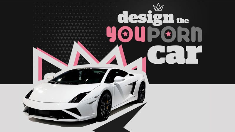Illustration for article titled YouPorn Wants You To Design The Look Of Its Lamborghini