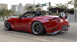 Illustration for article titled Sooo, widebody Miatas?