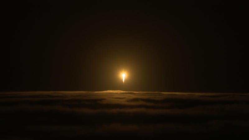 Mars InSight launch on May 5, 2018, from Vandenberg Air Force Base in California. I was below the fog and saw nothing.