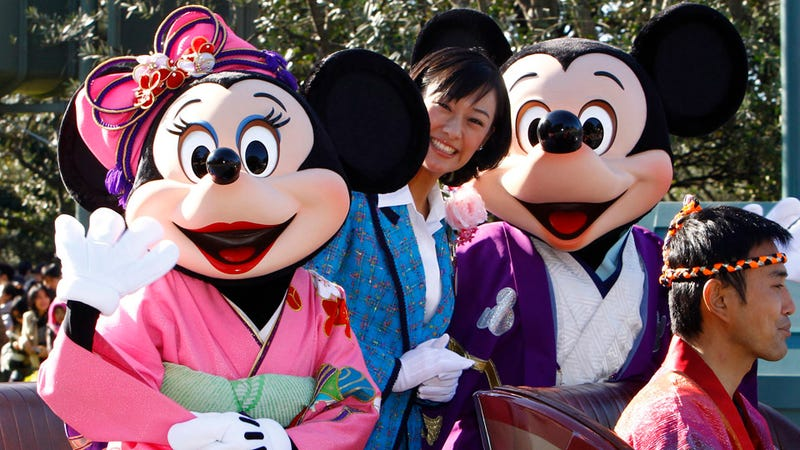 Illustration for article titled Mickey Mouse Is Totally Cool With Gay Marriage (in Japan, Anyhow)