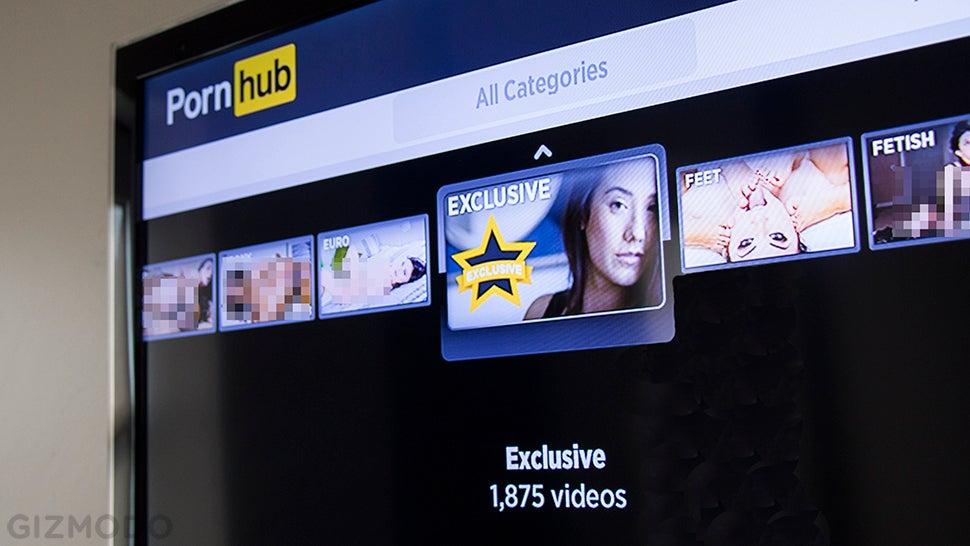 watch porn on smart tv