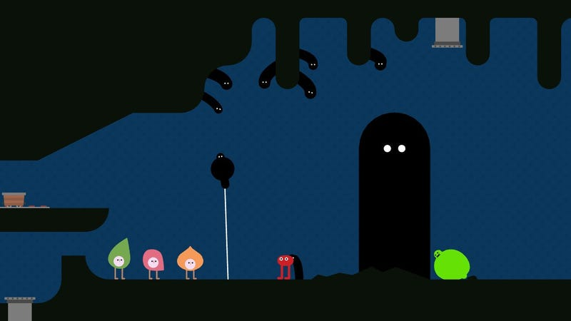 Illustration for article titled Pikuniku Is Not Your Average Game About A Red Blob With Legs