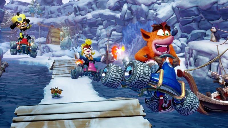 Illustration for article titled Crash Team Racing Remake Will Release In June 2019