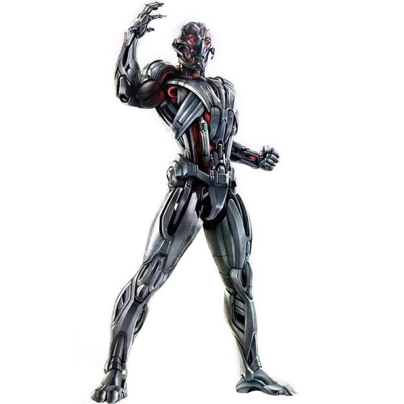 Illustration for article titled The first full look at Ultron from Avengers 2 (yes, it's one scary BMF)