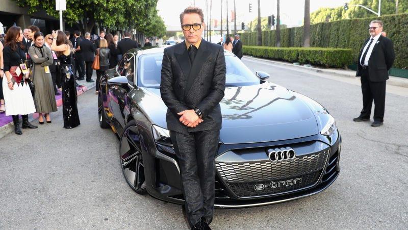 Illustration for article titled Por qué el Audi eléctrico E-Tron GT de Avengers: Endgame no suena como un automóvil eléctrico