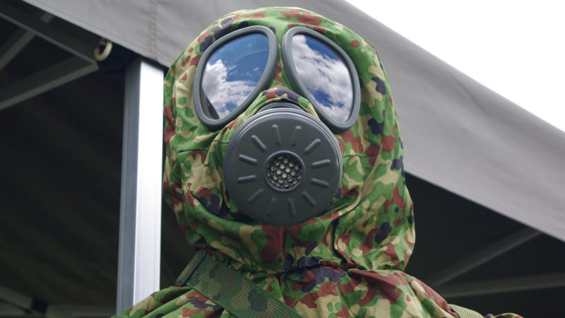 Illustration for article titled Deadly Cloud: The Science Behind the Syrian Chemical Weapons Attack