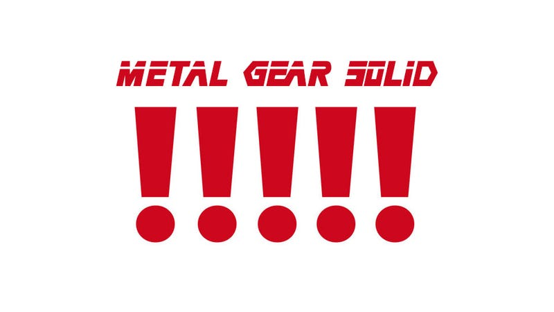 Illustration for article titled Did Metal Gear Solid 5 Just Get Secretly Announced?