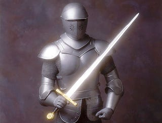 Illustration for article titled New Fencing Suit May Give Competitors Unfair Advantage