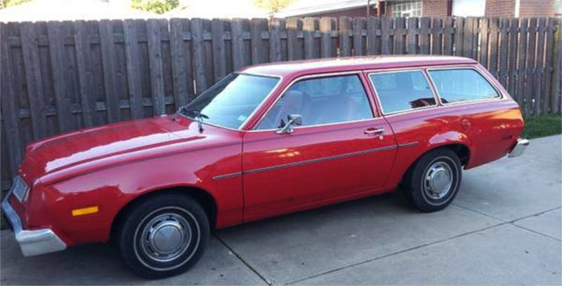 Illustration for article titled How About This Blast From The Past 1978 Ford Pinto Wagon For $3,950?