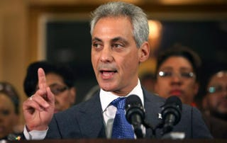 Chicago Mayor Rahm EmanuelScott Olson/Getty Images