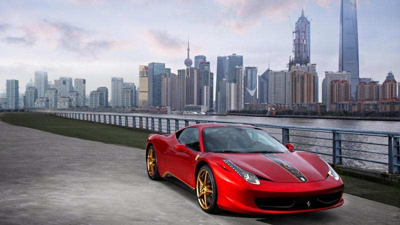 "Illustration for article titled Ferrari 458 China ""20th Anniversary Special Edition"""