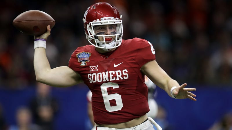 9925cc95b Baker Mayfield Reaches Plea Deal After Being Tackled And Arrested By ...