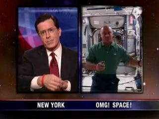 Illustration for article titled NASA Names Treadmill, Not Toilet, After Stephen Colbert