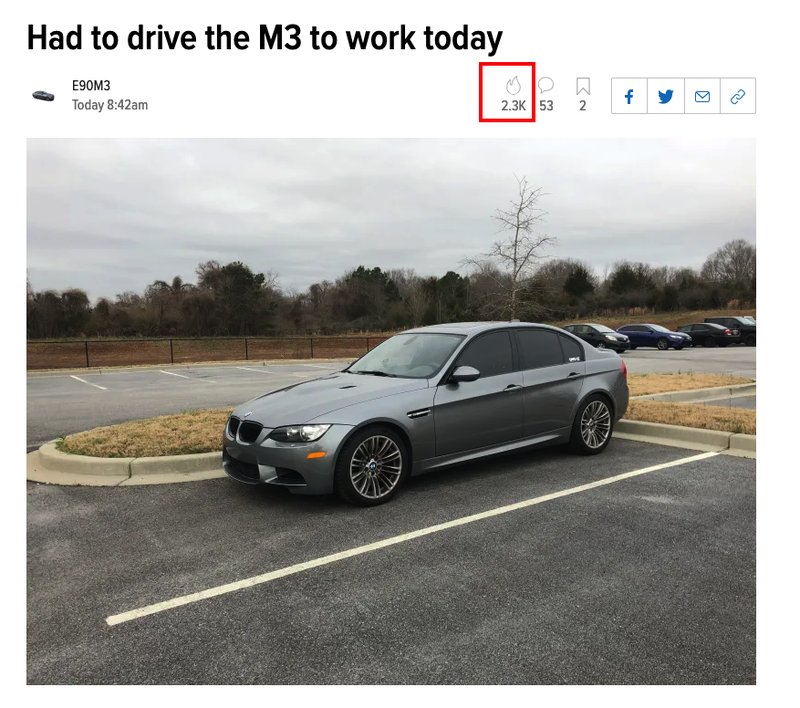 Illustration for article titled TIL that I don't know my M3 has a V8