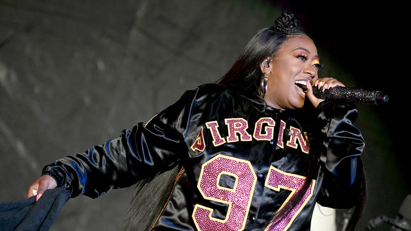 Missy Elliott performs onstage at SOMETHING IN THE WATER - Day 2 on April 27, 2019 in Virginia Beach City.