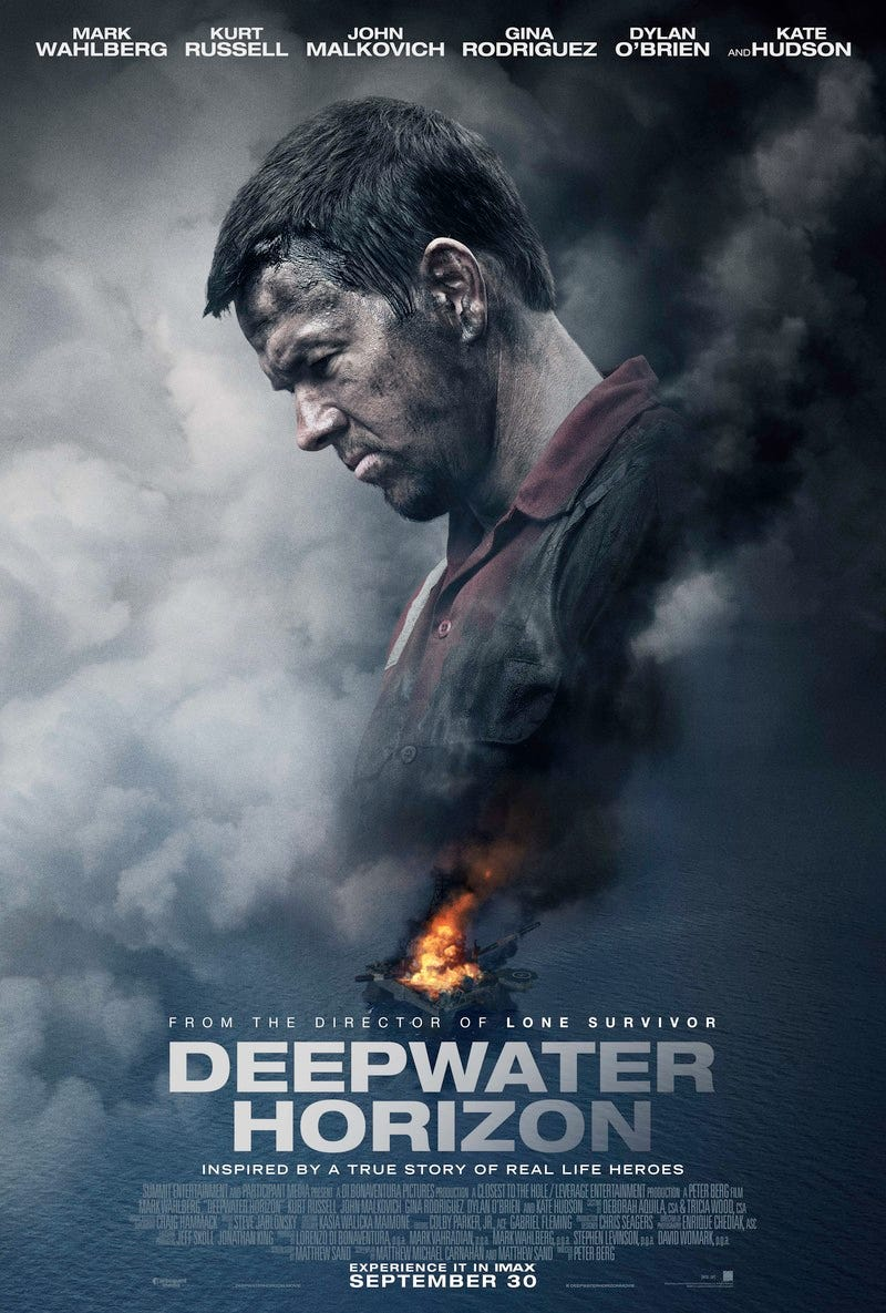 Illustration for article titled Deepwater Horizon 2016 Movie Counter