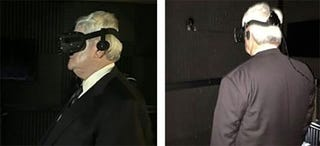 Illustration for article titled Newt Gingrich Wearing Oculus Rift Looks Like A Caption Contest