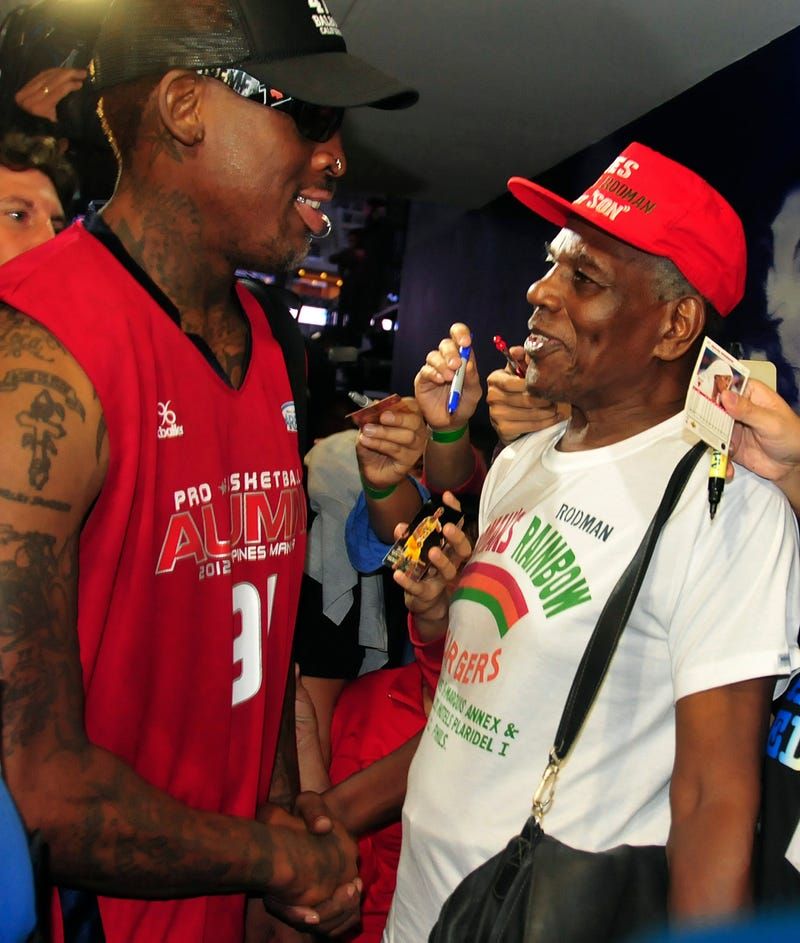 Illustration for article titled Dennis Rodman's Father Had 29 Children By 16 Women And Is Actually Named Philander