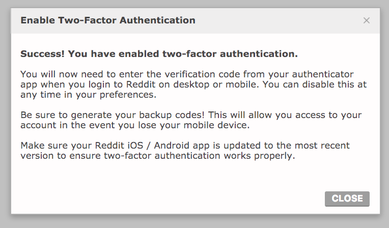 Secure Your Reddit Account Using Two-Factor Authentication