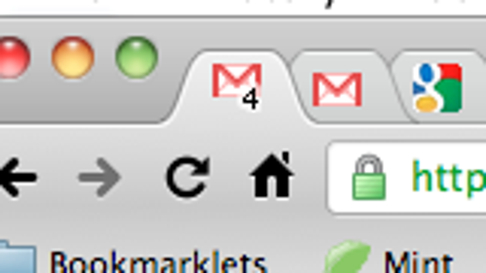 Gmail Adds Unread Count in Favicon to Gmail Labs