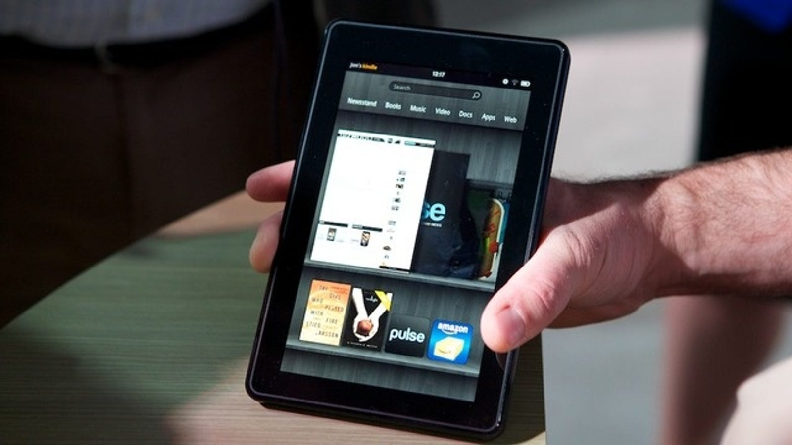 Amazon Loses $2 70 On Every Kindle Fire Sold