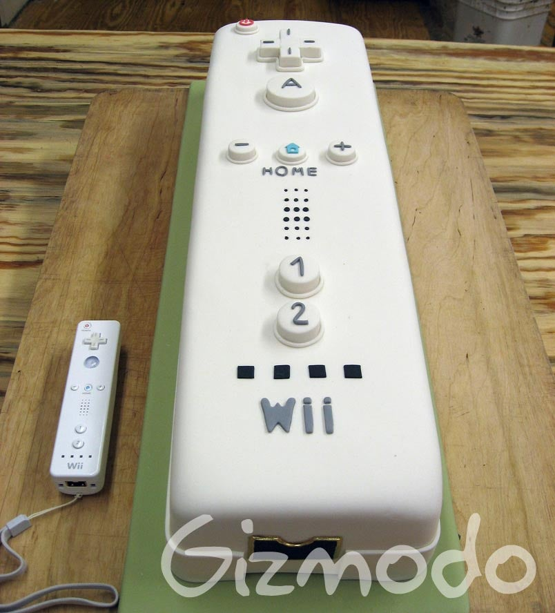 Brooklyn Pastry Chef Crafts Perfect Gigantic Wiimote Cake 9 Year Old Boys Birthday
