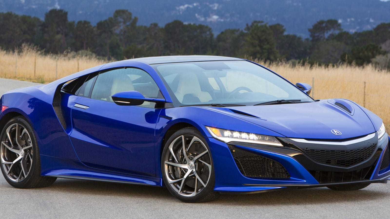 At Long Last The 2017 Acura Nsx Arrives With A 156 000 Price Tag