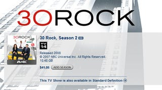 Illustration for article titled Did Apple Actually Bow to NBC to Get 30 Rock Back on iTunes?