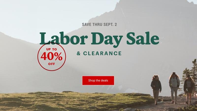 REI's Labor Day Sale | REI