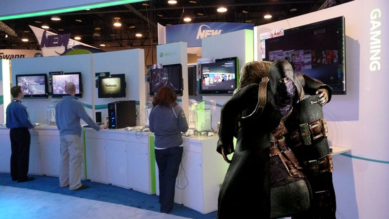 """Illustration for article titled CES 09: Microsoft Responds To Sony's Console Add-On """"Peddling"""" Claims"""