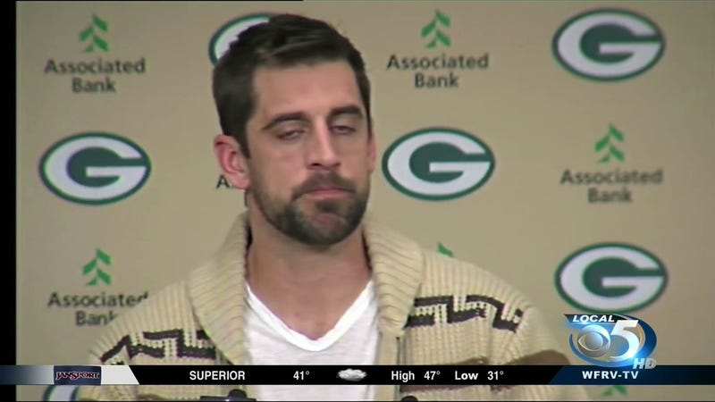 """Illustration for article titled Aaron Rodgers Goes As """"The Dude"""" For Halloween"""
