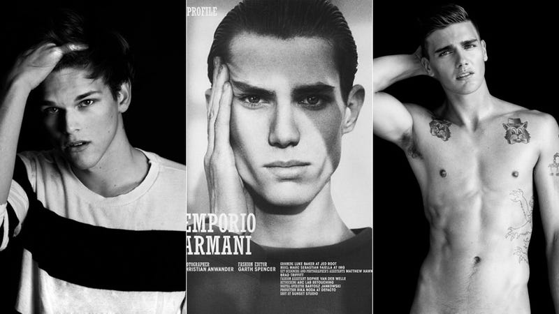 Illustration for article titled These Three Male Models Prove Zoolander Was a Documentary