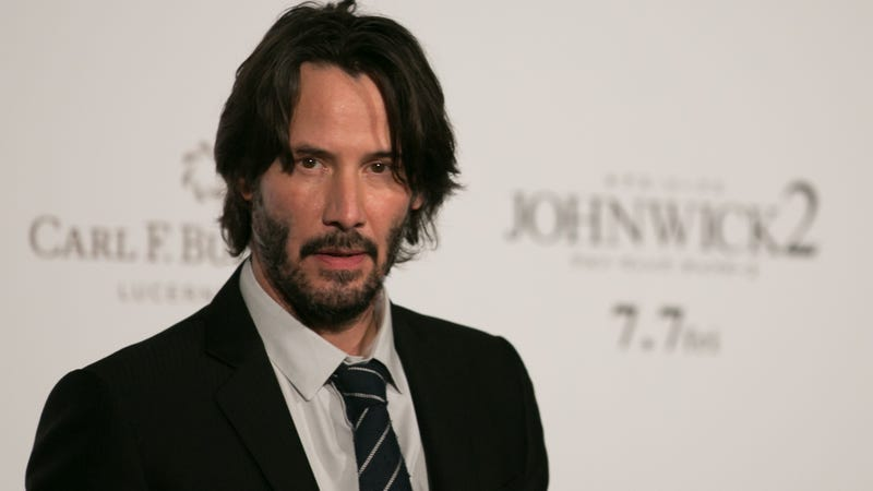 Illustration for article titled What's going on with Keanu Reeves' new sci-fi movie?