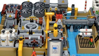 Illustration for article titled Until today, you never knew you wanted a LEGO desalination plant