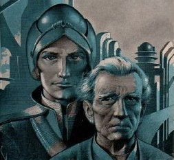 Illustration for article titled Emmerich's Asimov Foundation Trilogy Being Written By Private Ryan Scribe