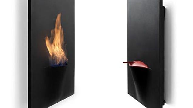 Safretti S Latest Wall Mounted Gaya Fireplace Looks Like A