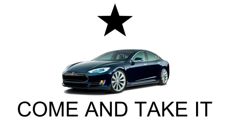 Illustration for article titled How Petty Money Politics Crushed Tesla In Texas