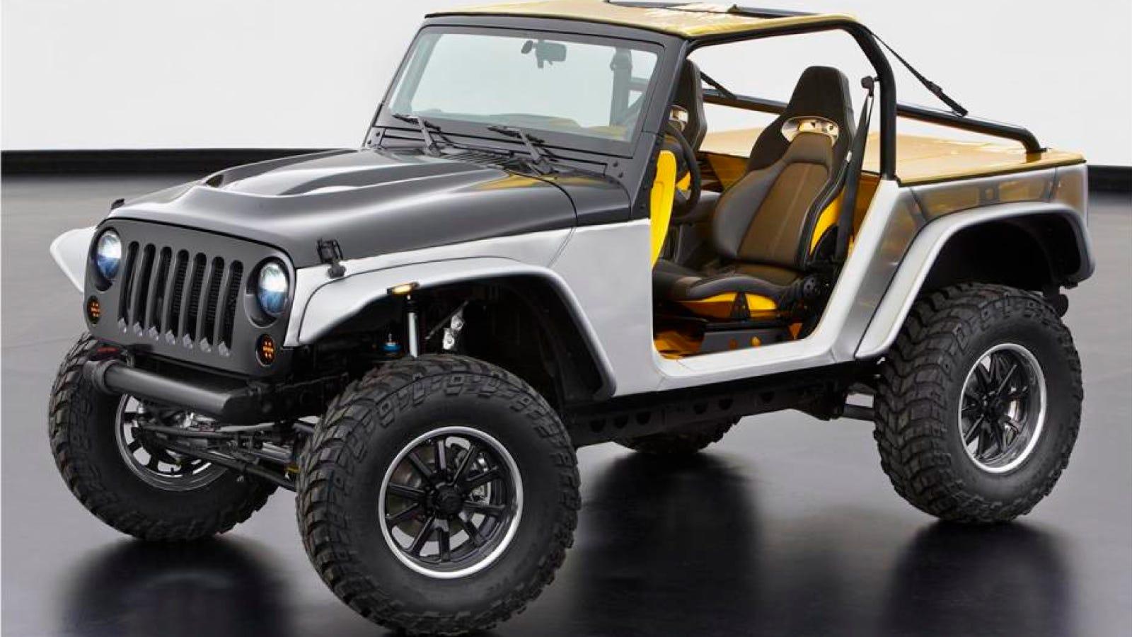 aluminum unibody for the 2017 jeep wrangler?